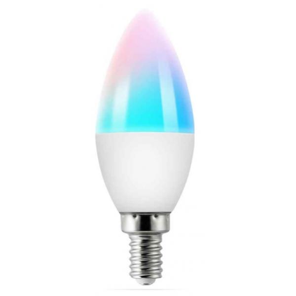 Умная RGB лампа свеча