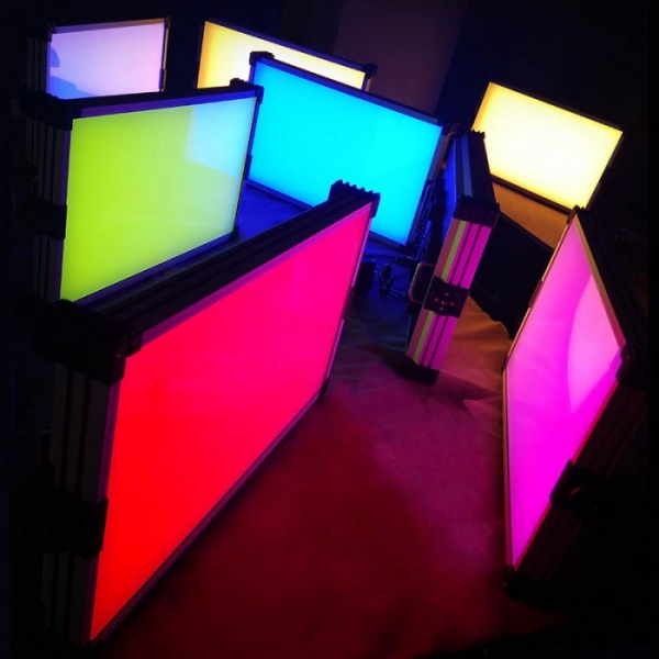 Умная RGB панель типа армстронг