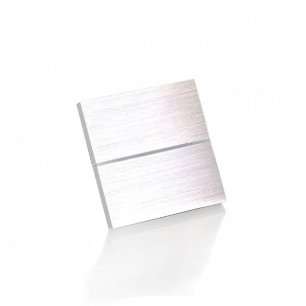 Умный люкс-выключатель (2 клавиши)