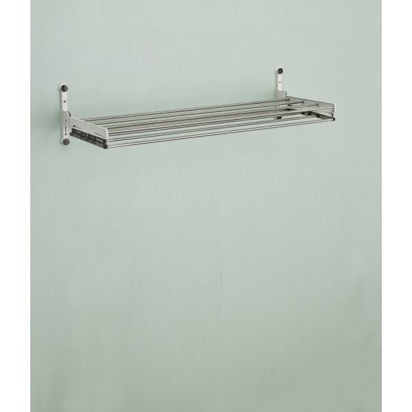Двухуровневая сушилка для белья на стену Wellex (Веллекс) RH2060 (Длина - 64 см)