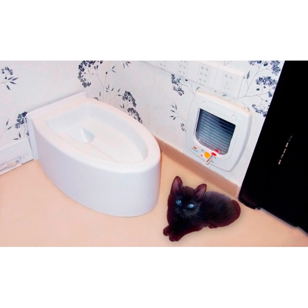 Как мыть туалет для кота