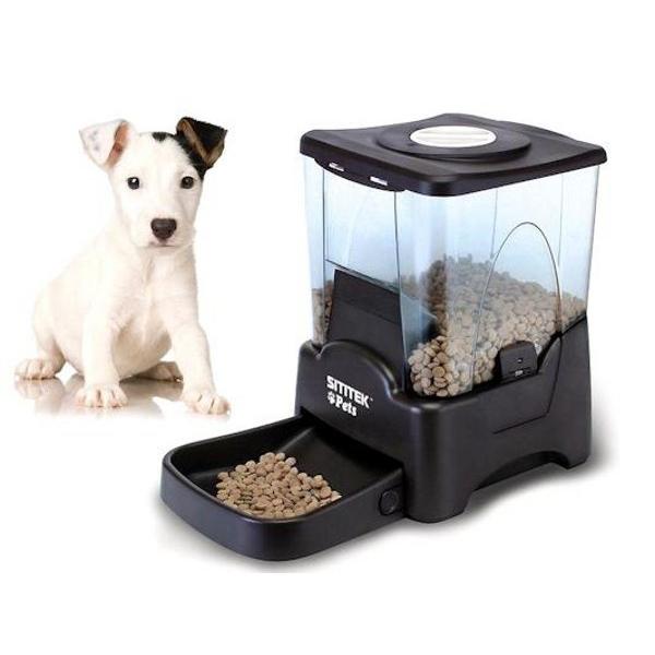 Большая автоматическая кормушка для кошек и собак