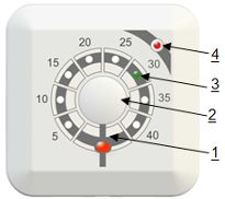 Режим работы терморегулятора